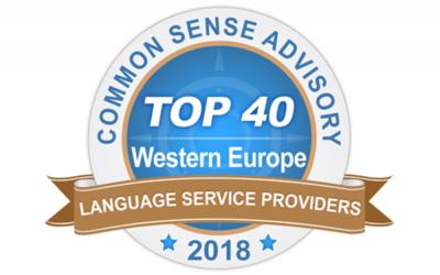 Amaïa und die Tradutec Gruppe auf Platz 17 des CSA-Rankings